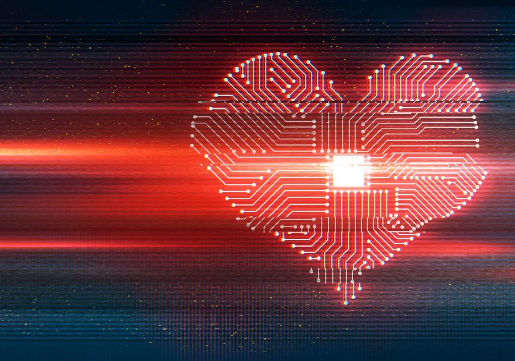heart shaped cpu processor